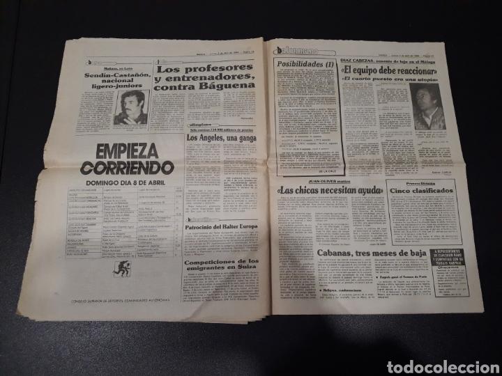 Coleccionismo deportivo: MARCA 5/04/1984. COPA R.MADRID,0 - BILBAO,1. BARCELONA,2 - LAS PALMAS,1. - Foto 14 - 151232706