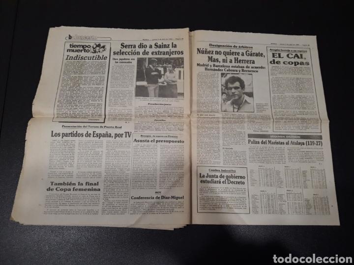 Coleccionismo deportivo: MARCA 5/04/1984. COPA R.MADRID,0 - BILBAO,1. BARCELONA,2 - LAS PALMAS,1. - Foto 15 - 151232706