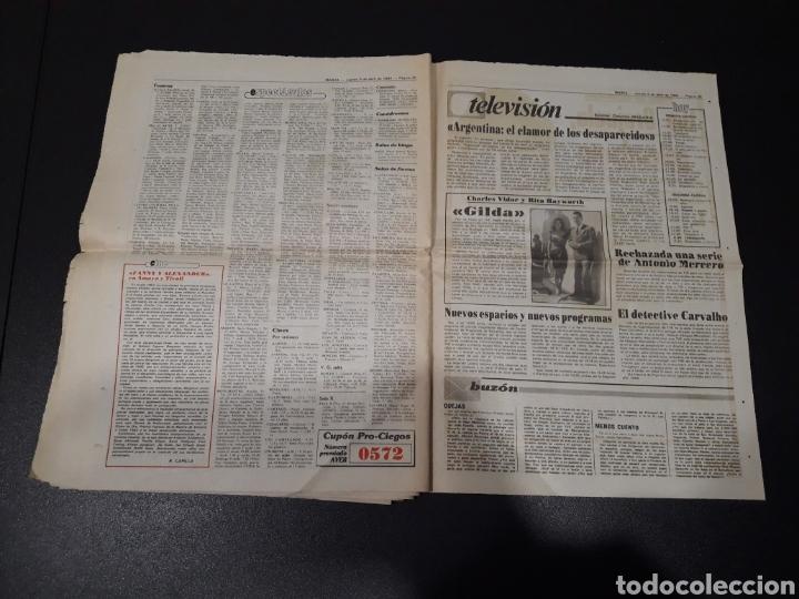 Coleccionismo deportivo: MARCA 5/04/1984. COPA R.MADRID,0 - BILBAO,1. BARCELONA,2 - LAS PALMAS,1. - Foto 16 - 151232706