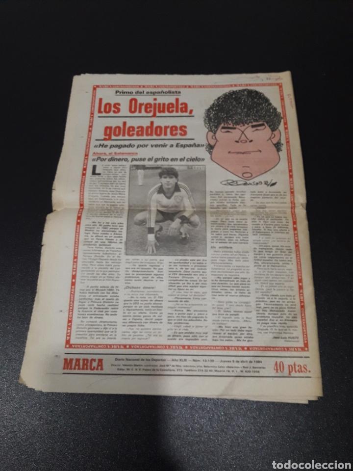 Coleccionismo deportivo: MARCA 5/04/1984. COPA R.MADRID,0 - BILBAO,1. BARCELONA,2 - LAS PALMAS,1. - Foto 17 - 151232706