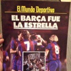 Coleccionismo deportivo: FC BARCELONA CAMPEÓN 85. ESPC MUNDO DEPORTIVO. Lote 151318234