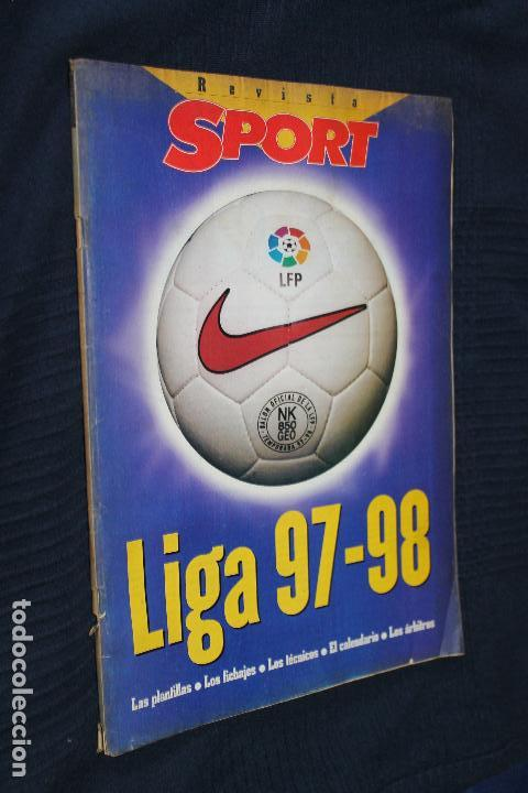 REVISTA, SPORT, LIGA 97-98, (Coleccionismo Deportivo - Revistas y Periódicos - Sport)