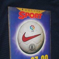 Coleccionismo deportivo: REVISTA, SPORT, LIGA 97-98, . Lote 151364262
