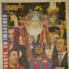 Coleccionismo deportivo: FINAL CHAMPIONS 2011 - FC BARCELONA & MANCHESTER UNITED. Lote 151428366