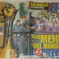 Coleccionismo deportivo: FINAL COPA INTERCONTINENTAL 2011 - FC BARCELOA & SANTOS. Lote 151432854
