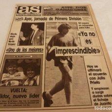 Coleccionismo deportivo: AS(26-4-90)AT.MADRID 3 LOGROÑES 1,OSASUNA 0 R.MADRID 2,PALAMÓS Y ESPAÑOL A POR EL ASCENSO!!!. Lote 151574190