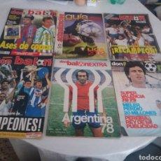 Coleccionismo deportivo: REVISTAS DON BALÓN DE VARIOS AÑOS. Lote 152007646