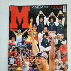 Coleccionismo deportivo: MARCA. ANUARIO 2004. ENERO DE 2005. TDKR17. Lote 152024670