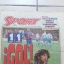Coleccionismo deportivo: DIARIO SPORT. N 5420. 08 DICIEMBRE 1994. Lote 152089826