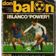 Coleccionismo deportivo: DON BALÓN. Nº 113. 14 DICIEMBRE 1977. (ST/A02). Lote 152208906