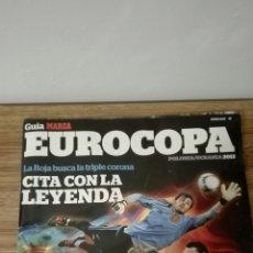 Coleccionismo deportivo: GUÍA DE LA EUROCOPA POLONIA-UCRANIA 2012. MARCA. Lote 152215164