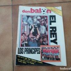 Coleccionismo deportivo: DON BALÓN. N° 456. FINAL DE LA EUROCOPA 1984. JULIO. 1984.. Lote 152427722