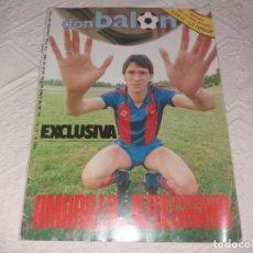 Coleccionismo deportivo: REVISTA DON BALÓN. AMARILLA AZULGRANA. 1985. N° 506.. Lote 152485354
