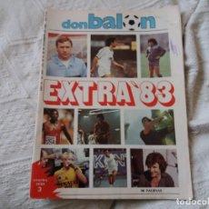 Coleccionismo deportivo: REVISTA DON BALÓN. EXTRA 83. N° 428.. Lote 152563422