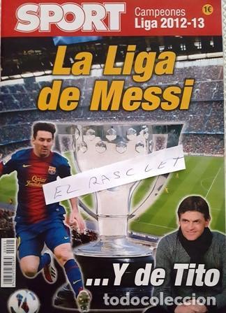 REVISTA - SPORT - CAMPEONES DE LIGA - 2012-13- Y DE TITO - (Coleccionismo Deportivo - Revistas y Periódicos - Sport)