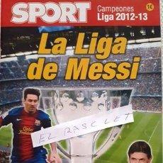 Coleccionismo deportivo: REVISTA - SPORT - CAMPEONES DE LIGA - 2012-13- Y DE TITO - . Lote 152601774