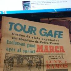 Coleccionismo deportivo: PERIODICO MARCA 2 JULIO DE 1978. Lote 152720288