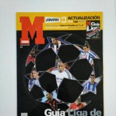 Coleccionismo deportivo: EXTRA GUIA MARCA LIGA CAMPEONES 2003-2004. ACTUALIZACION LIGA 2003 2004. CHAMPIONS LEAGUE. TDKR46. Lote 152779622
