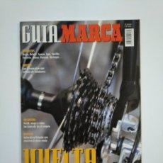Coleccionismo deportivo: GUIA MARCA VUELTA CICLISTA A ESPAÑA 2001. TDKR46. Lote 152780074