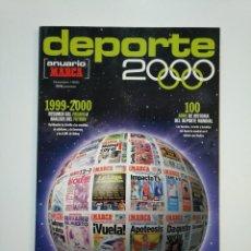 Coleccionismo deportivo: REVISTA GUIA MARCA ANUARIO 2000 MARCA 1999 2000. ANUARIO DEPORTE. TDKR8. Lote 152788562