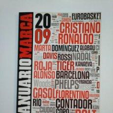 Coleccionismo deportivo: REVISTA ANUARIO MARCA AÑO 2009. TDKR8. Lote 152789806