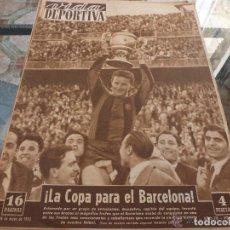 Coleccionismo deportivo: VIDA DEPORTIVA Nº:350(26-5-52)!!! BARÇA CAMPEÓN COPA 4-2 AL VALENCIA!!!-FOTOS. Lote 152847542