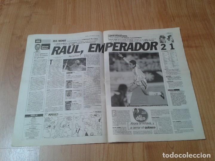 Coleccionismo deportivo: Real Madrid - Intercontinental - Edición Especial - Periódico AS - 1/12/1998 - Reyes del mundo - Foto 4 - 152869538
