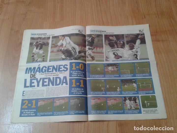 Coleccionismo deportivo: Real Madrid - Intercontinental - Edición Especial - Periódico AS - 1/12/1998 - Reyes del mundo - Foto 5 - 152869538