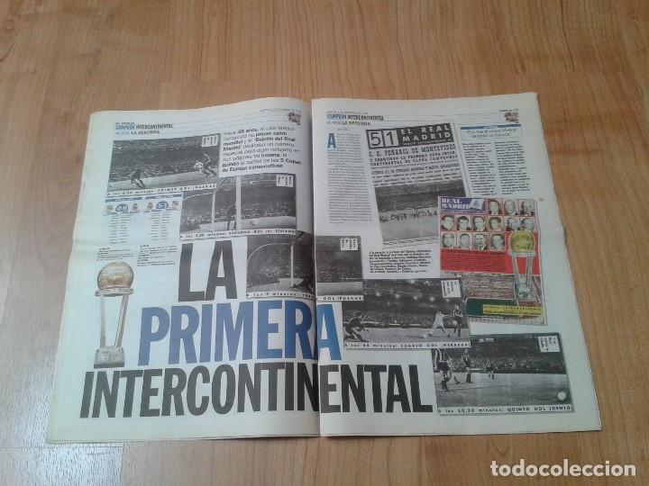 Coleccionismo deportivo: Real Madrid - Intercontinental - Edición Especial - Periódico AS - 1/12/1998 - Reyes del mundo - Foto 6 - 152869538