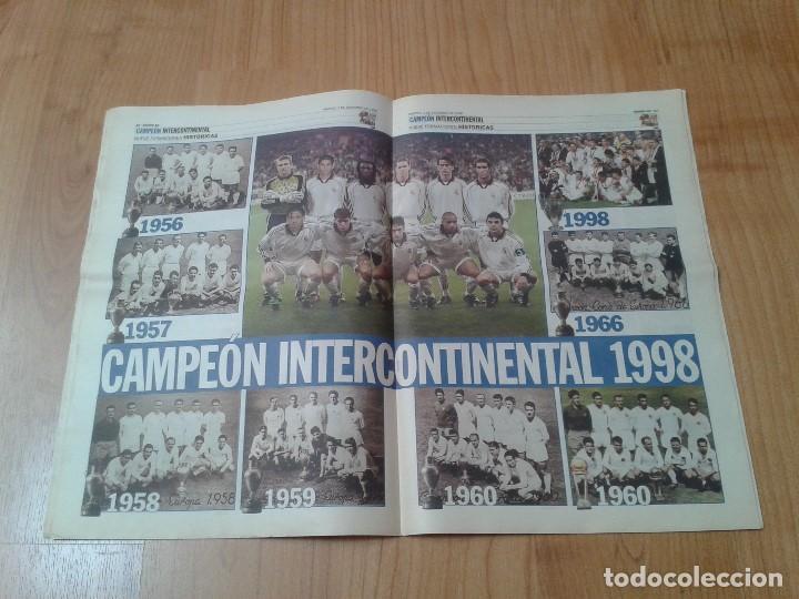 Coleccionismo deportivo: Real Madrid - Intercontinental - Edición Especial - Periódico AS - 1/12/1998 - Reyes del mundo - Foto 7 - 152869538