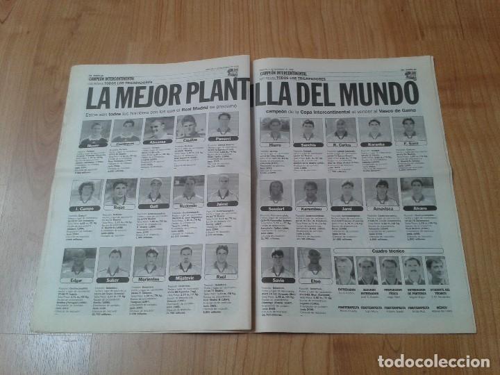 Coleccionismo deportivo: Real Madrid - Intercontinental - Edición Especial - Periódico AS - 1/12/1998 - Reyes del mundo - Foto 8 - 152869538