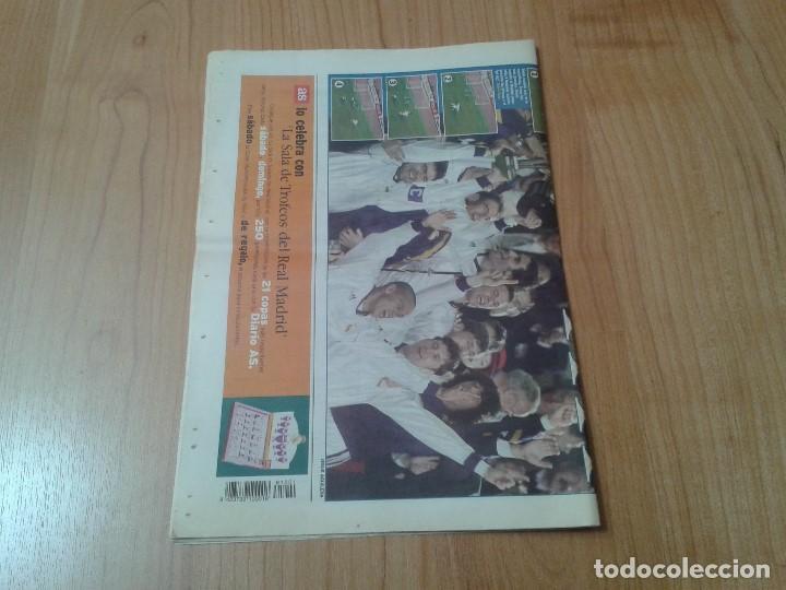 Coleccionismo deportivo: Real Madrid - Intercontinental - Edición Especial - Periódico AS - 1/12/1998 - Reyes del mundo - Foto 10 - 152869538