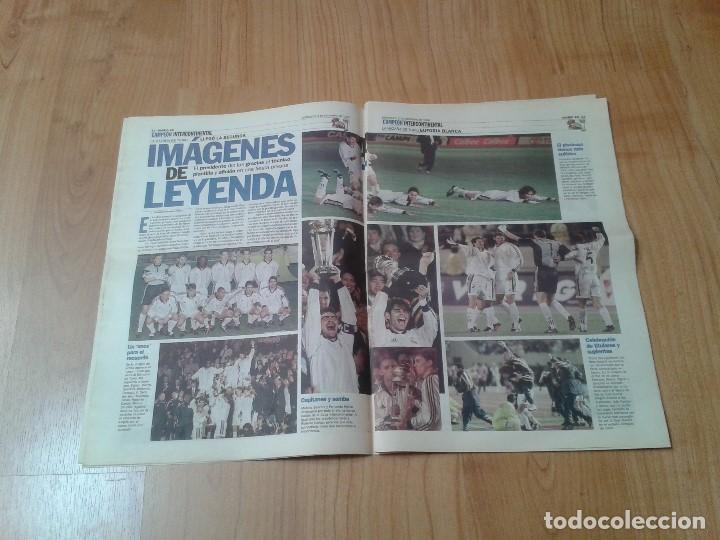 Coleccionismo deportivo: Real Madrid - Copa Intercontinental - Periódico AS - 2/12/1998 - En la cima del Mundo - Foto 3 - 152869818