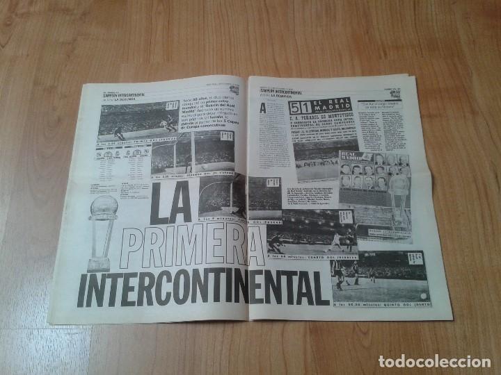 Coleccionismo deportivo: Real Madrid - Copa Intercontinental - Periódico AS - 2/12/1998 - En la cima del Mundo - Foto 4 - 152869818