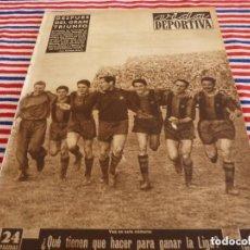 Collectionnisme sportif: VIDA DEPORTIVA Nº:396(13-4-53)!!!! R.C.D. ESPAÑOL 0 BARÇA 2 !!! EN SARRIÁ !!!. Lote 152992386