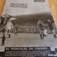 Colecionismo desportivo: VIDA DEPORTIVA Nº:422(19-10-53) BARÇA 2 VALENCIA 0-FOTOS. Lote 153049062