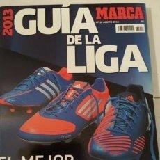 Coleccionismo deportivo: GUÍA MARCA DE LA LIGA 2013. Lote 153088118