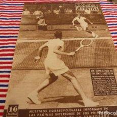 Coleccionismo deportivo: VIDA DEPORTIVA Nº:362(18-8-52)EUROPA-ESPAÑOL FIESTA MAYOR GRACIA,ENTRENAMIENTOS EN 1ª DIVISION.. Lote 153448670