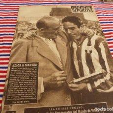 Coleccionismo deportivo: VIDA DEPORTIVA Nº:364(1-9-52)SAN ANDRÉS-BARÇA DESPIDEN A MARIANO MARTIN,EL R.MADRID,OVIEDO.. Lote 153461386