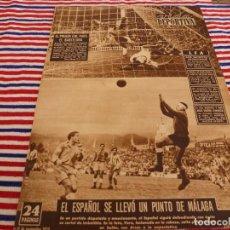 Coleccionismo deportivo: VIDA DEPORTIVA Nº:375(17-11-52)MEMORIAS DE KUBALA,PROX.ARGENTINA-ESPAÑA,ESTADIO GAMPER BARÇA?. Lote 153463162