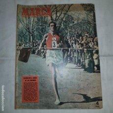 Coleccionismo deportivo: MARCA GRAFICO Nº 536 (10-3·1953) ESPAÑA EN EL CROSS DE LAS NACIONES. Lote 153477558
