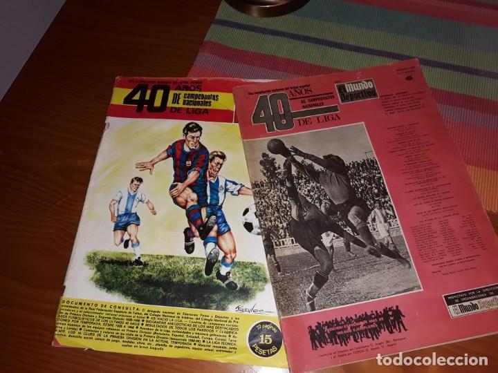 EL MUNDO DEPORTIVO NOVIEMBRE 1968 ESPECIAL 40 AÑOS (Coleccionismo Deportivo - Revistas y Periódicos - Mundo Deportivo)