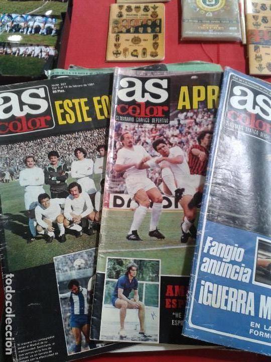 Coleccionismo deportivo: COLECCION AS COLOR ANTIGUA ; COLECCION COMPLETA 557 NUMEROS 1971-1981 - CON POSTERS - Foto 4 - 153698370