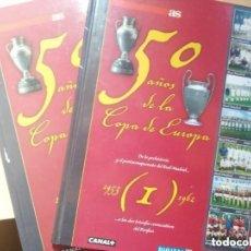 Coleccionismo deportivo: AS LIBRO ESPECIAL 50 AÑOS DE LA COPA DE EUROPA.VOL 1 Y 8 . Lote 154287050