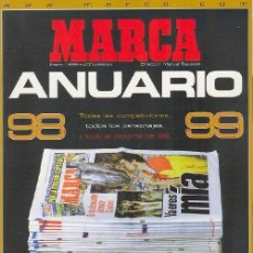 Coleccionismo deportivo - GUIA ANUARIO MARCA TEMPORADA TEMPORADA 98-99 - 162437665