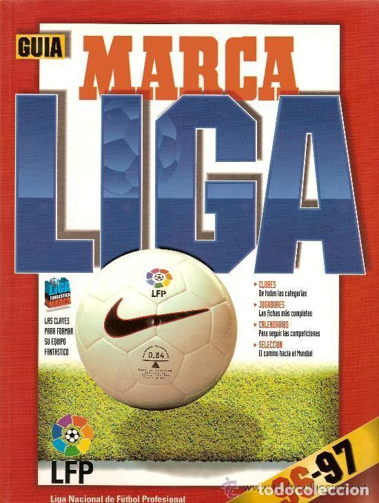 GUIA ANUARIO MARCA FUTBOL TEMPORADA TEMPORADA 96-97 ( 1996-1997 ) (Coleccionismo Deportivo - Revistas y Periódicos - Marca)