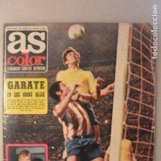 Coleccionismo deportivo: REVISTA AS COLOR Nº 55. 1972 . POSTER CADIZ CLUB DE FUTBOL. Lote 154715154