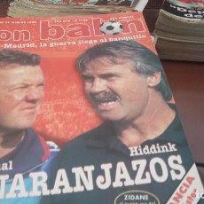 Coleccionismo deportivo: REVISTAS ANTIGUAS DON BALON . AÑOS 90. LOTE DE 30 REVISTAS. Lote 154849958