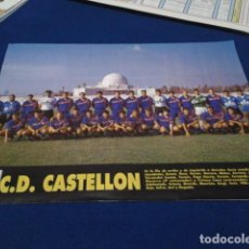 Collectionnisme sportif: MINI POSTER DON BALON 1993 - 1994 (C.D. CASTELLON ) TEMPORADA 93 - 94 NUEVO . Lote 155162062
