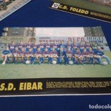 Colecionismo desportivo: SD. EIBAR: MINIPÓSTER DE LA TEMPORADA 93-94. Lote 155163298